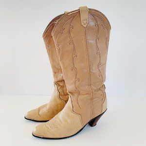 acme western boot, size 8